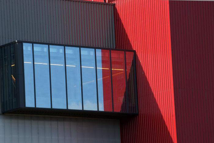 abstract, lijnen, kantoor, industrie, Albertkanaal, België