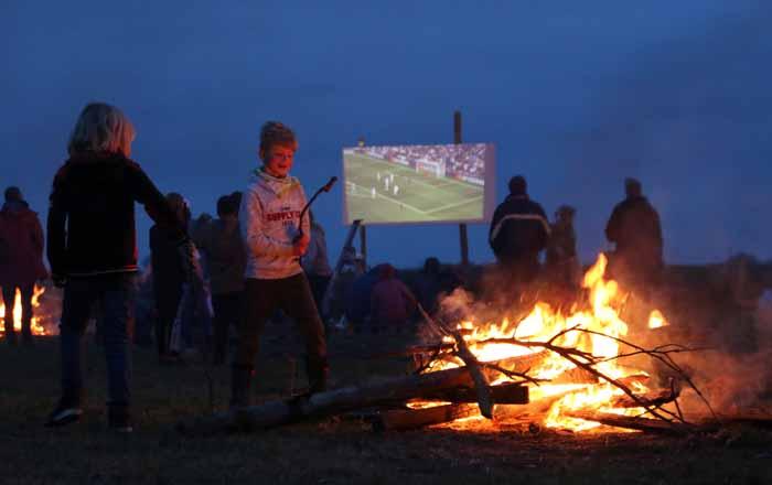 Texel meierblis voetbal