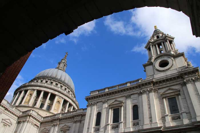 Engeland, Londen St Pauls Cathedral
