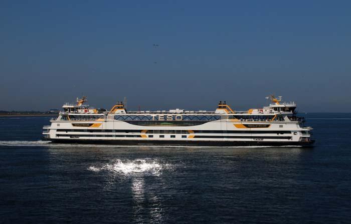 veerboot Texel Texelstroom TESO Marsdiep
